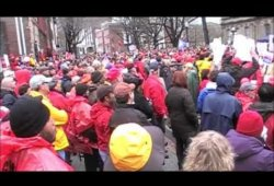 2.25.11 Labor Rally in Trenton, NJ