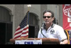 CWA Rally IN NY CIty- July 30, 2011 - Together and United